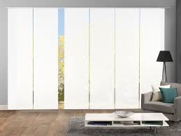 home wohnideen schiebevorhang rom weiß 3er 4er 5er oder 6er set 245 x 60 cm blickdicht