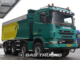 SCANIA G400 8X4 Retarder Big-Axle Widespread Euro 5 NL-Truck Dump ...
