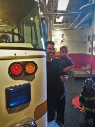 100 Fire Truck Museum Chris Taylor And TinyMan With At Childrens Of