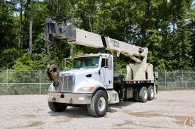 Sold Used National 9125A Mounted To 2007 Peterbilt 340 Chassis Crane ...