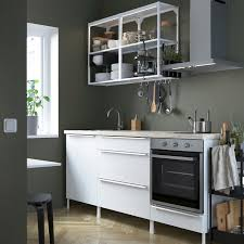 enhet küche weiß hochglanz weiß 203x63 5x222 cm