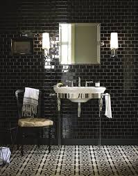 going for bold make a splash in your bathroom with monochrome