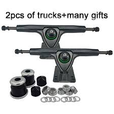 100 Downhill Longboard Trucks US 1688 1 Pair Bracket 7 Inch 180mm For Dance Skateboard 1year Quality Warranty Gravity Casting Technologyin Skate Board