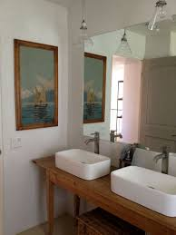 Unfinished Bathroom Cabinets And Vanities by Interior Modern Traditional Bathroom Design With Brown Oak Wood