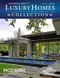 100 Modern Homes Magazine Luxury Collection Spring 2018 Macdonald