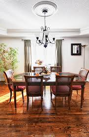 Dining Room Interior With Wooden Table And Chairs In House Your DFW Hardwood Flooring Specialist