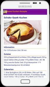 beste kuchen rezepte for android apk