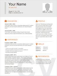 Simple Resume Templates Basic Template 51 Free Samples Examples