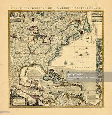 North America Central Westindies 1734 Map A Of The British Empire In
