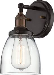 nuvo lighting 60 5514 vintage incandescent one light wall sconce