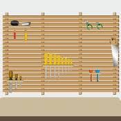comment fabriquer un rangement à outils mural