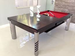dining room pool table combo indiepretty