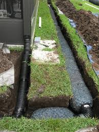 drain contractor northern virginia fairfax yard drainage
