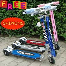 Scooter For Kids Free Shipping 3 Wheel Aluminum Alloy Sale Foot Children Kick Best Price In ScootersFoot Scooters From