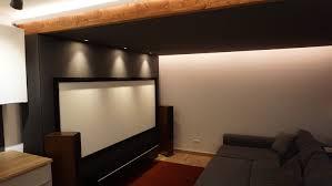 wohnzimmer kino mit passiver beleuchtung everen germany