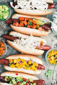 Tropical Hot Dog Bar ~ I Admit It, I'm A Closet Hot Dog Lover ... Best 25 Hot Dog Bar Ideas On Pinterest Buffet Bbq Tasty Toppings Recipes Gourmet Hot Win Memorial Day With 12 Amazing Dog Toppings Organic Grass Teacher Appreciation Lunch Ideas Bar Bratwurst And Jelly Toast Easy Chili Recipe Dogs What Does Your Say About You Psychology Long Weekend Cookout Food Click Create A Joy Of Kosher The Smart Momma Poker Run