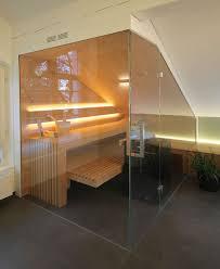 sauna unter einer dachschräge innenarchitekt in münchen