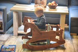 3 In 1 MONTESSORI Chair, Rocking Horse, Drawing Table And A High Chair,  KITCHEN HELPER, Toddler, Learning, Gift, Wooden Rocking Chair, Tower