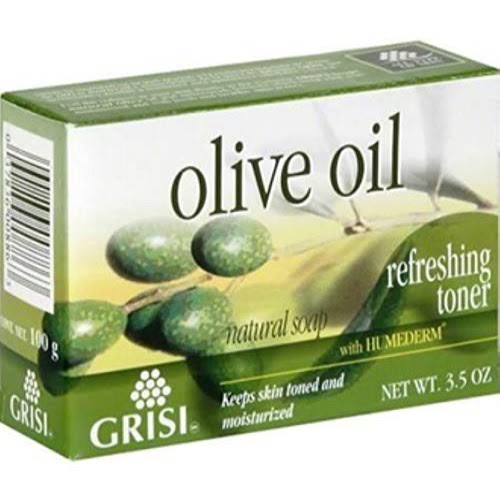 GRISI Natural Soap, Refreshing Toner, Olive Oil - 3.5 oz