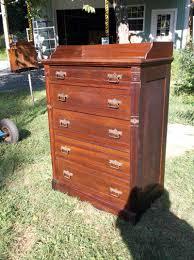 Birdseye Maple Serpentine Dresser by Antique Bedroom Furniture