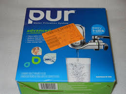 Pur Mineralclear Faucet Refill 6 Pack by Pur Filter System Fm 3700b Chrome Vertical Faucet Mount With 3