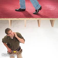 Fix Squeaky Floors Under Carpet by How To Fix Squeaky Floors Family Handyman