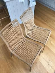 PAIR OF IKEA NANDOR DINING CHAIRS WOVEN WICKER   In ... Wicker Outdoor Couch Cushions For Ikea Armchair Kungsholmen Chair Black Brownkungs Regarding Rattan Pin By Arien Hamblin On Kitchen In 2019 Wicker Chair 69 Frais Photographier Of Ding Chairs Julesporelmundo Tips Modern Parson Design Ideas With Cozy Clear Upholstered Foldable Ikea Cheap Find Fniture Appealing Image Room Decoration Using Tremendous Sunshiny Glass Along 25 Elegant Corner Mahyapet Interior Decorating And Home Cushion Best Patio Seat Luxury