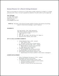 Sample Resume Template Or Standard Doc Format Work Experience Full