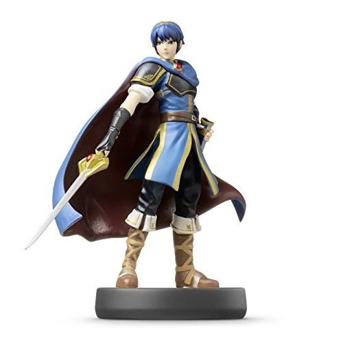 Nintendo Wii U 3DS Amiibo Super Smash Bros Action Figure - Marth