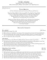 Nursing Student Resume Samples With No Experience Great New Graduates Examples
