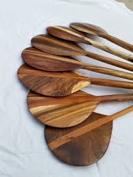 Decorative Oars And Paddles Canada by Wood Canoe Paddles Traditional Hawaiian Style Small Size