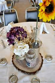 Vintage Wedding Table Decorations Pinterest Rustic Purple