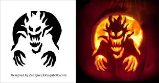 Free Ninja Turtle Pumpkin Carving Template by 10 Free Halloween Scary U0026 Cool Pumpkin Carving Stencils Patterns