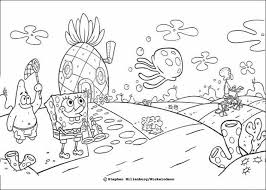 Free Coloring Pages Spongebob