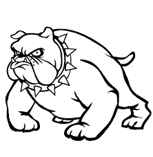31 Bulldog Coloring Pages 4656 Via Freecoloringpagescouk