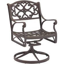 Walmart Swivel Chair Hunting by Home Styles Biscayne Outdoor Swivel Arm Chair Multiple Finishes