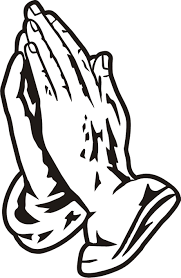 Black Praying Hands Clipart Free Images