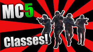 modern combat 5 blackout news progression classes