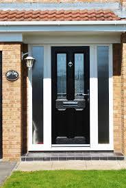 Front Door Side Window Curtain Panels by Front Doors Ideas Front Door With Side Panel 13 Wooden Front