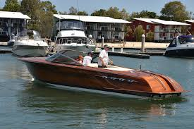 rare riva on display at sanctuary cove boatadvice
