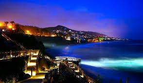 Laguna Beach At Night 7671