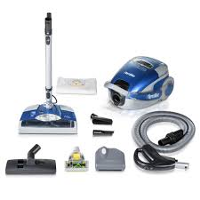 Prolux Blue TerraVac 5 Speed Quiet Vacuum Cleaner with Sealed HEPA
