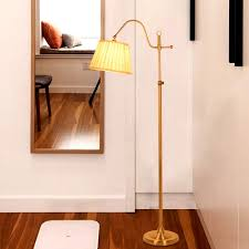 Modern Floor Light Classic Living Room Bedroom Adjustable Direction Standing Lamp Copper Color Stand Home Lighting BLF527 In Lamps From Lights