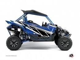 kit deco 250 raptor kit déco yamaha 250 raptor bleu