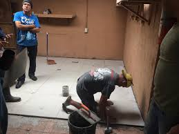 Tile Setter Salary Texas by Laying New Tile Jpg