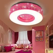 lyxg kinder im zimmer der mädchen schlafzimmer licht led deckenleuchte prinzessin warme zimmer sterne romantische runden leuchten 40cm