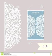 Excellent Paper Cut Designs Template Wedding Invitation Or Greeting Card With Abstract Ornament Vector Envelope For Laser