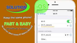 No Internet Connection Blocked IP Address iPhone Wi Fi Problem