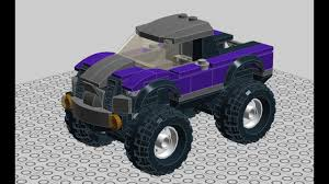 100 Lego Monster Truck Games LEGO Legocity Monster Truck How To Build TUTORIAL YouTube