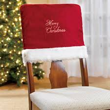 Christmas Holiday Chair Cover Pattern Home Designing Covers For Chairs Minimalist